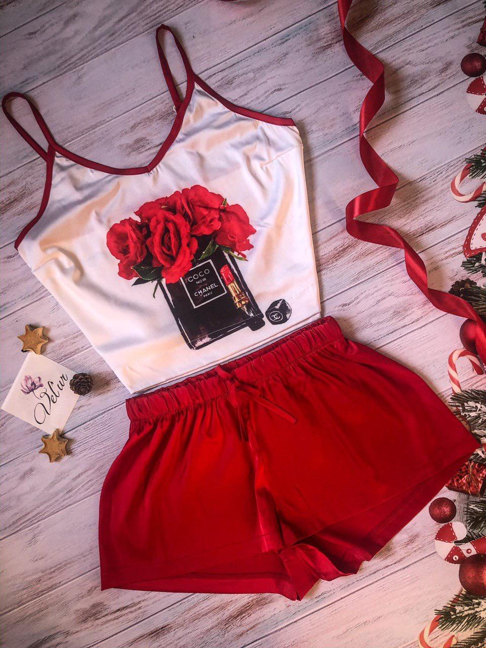 Шелковая пижама ручной работы Коко