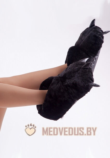 Тапочки когти черные (40-46) купить в Минске