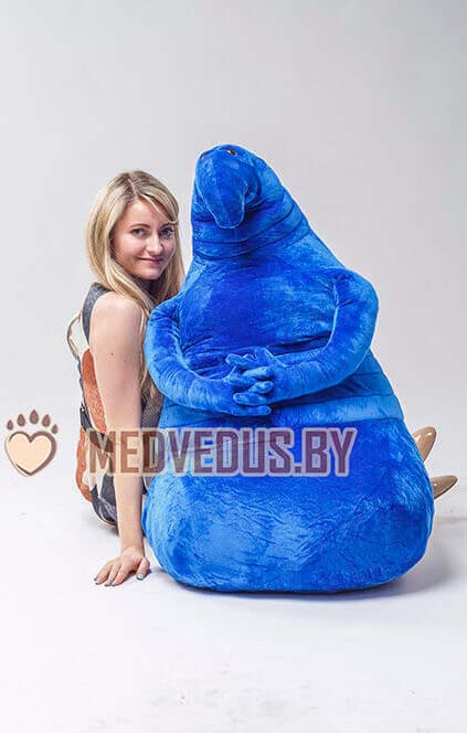 Мягкая игрушка Ждун 100 см Синий