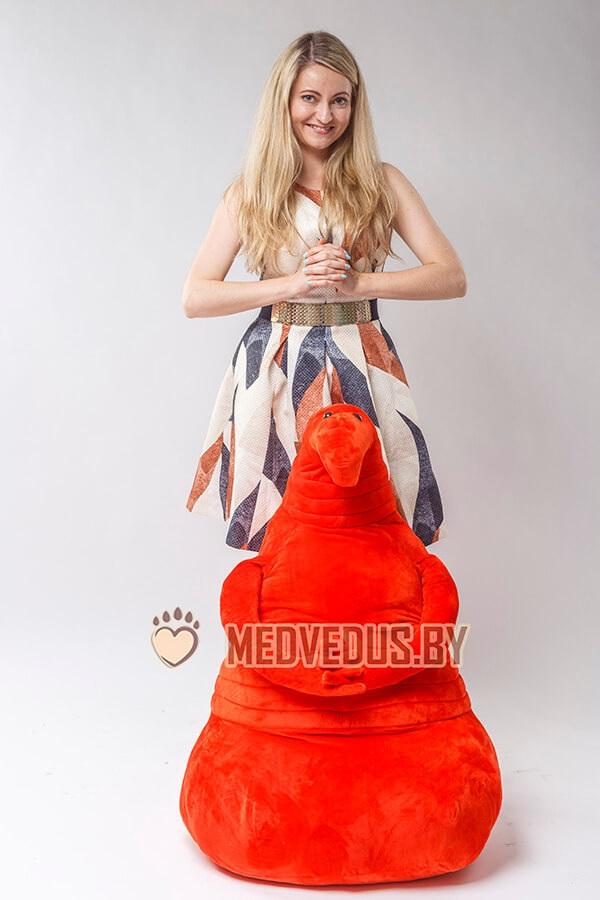 Мягкая игрушка Ждун 100 см красный