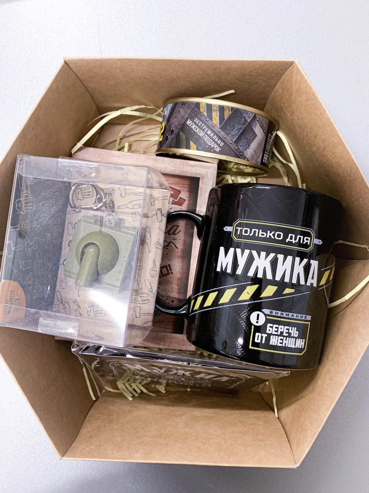 """Подарочный бокс , набор""""Танкист""""  M01 для мужчины купить в Минске"""