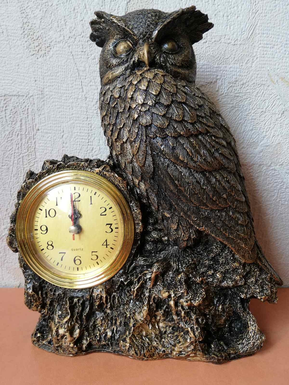 Статуэтка часы Сова