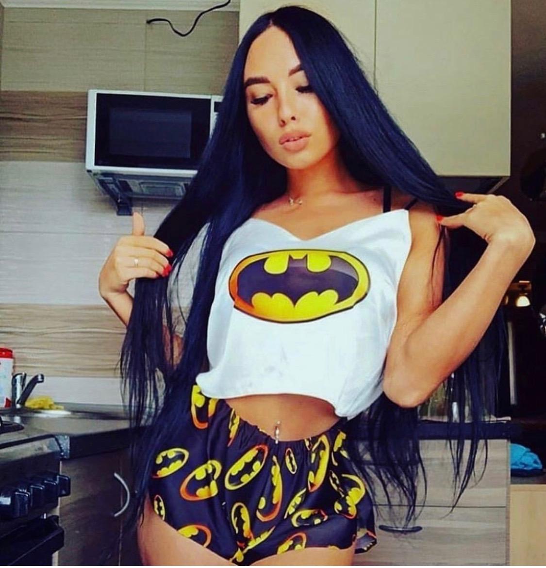 Шелковая пижама Бэтмен