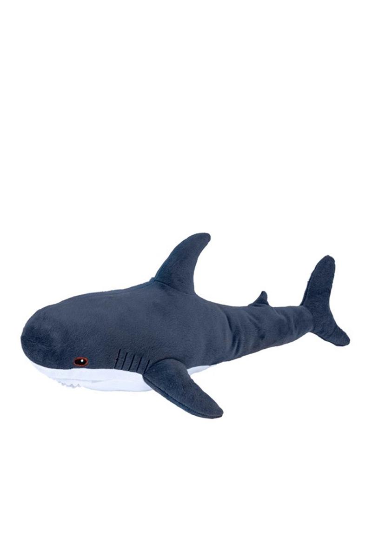 Мягкая игрушка Акула 100 см Блохэй Темно-синяя