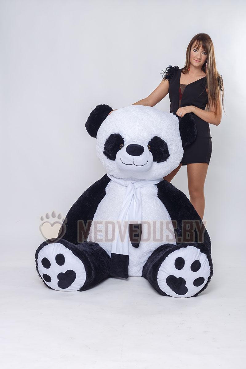 Панда Чика 230 см сшарфиком