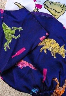 Шелковая пижама Винозавр