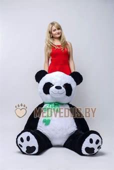 Огромная Панда 170 черно-белая