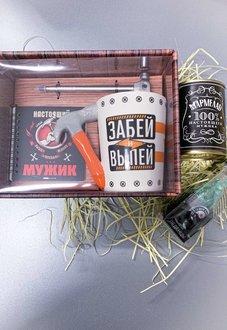 """Подарочный бокс , набор""""Забей и выпей""""  M06 для мужчины купить в Минске"""