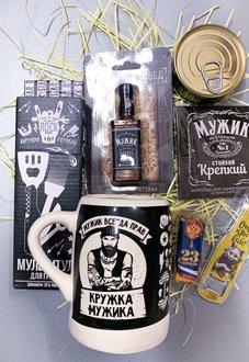 """Подарочный бокс , набор""""Мужик всегда прав""""  M04 для мужчины купить в Минске"""