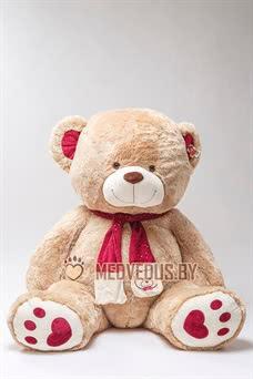 Медведь My love 200 см кофейный мишка