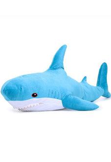Мягкая игрушка Акула 100 см Блохэй голубая