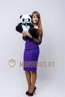 Панда 50 черно-белая маленькая, милая, игрушечная