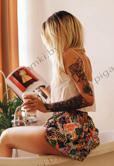 Шелковая пижама Марвел купить в Минске