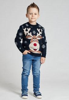 Свитер с  оленем SC10B (детский) для мальчиков
