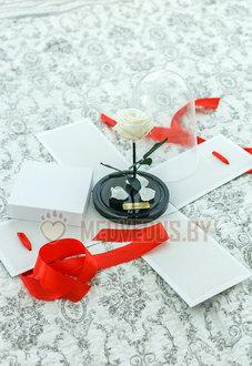 Коробка для розы в колбе 22 см