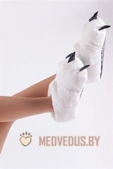 Тапочки когти белые (36-41) купить в Минске