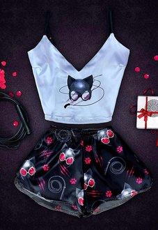 Шелковая пижамка Catwoman Купить в Минске