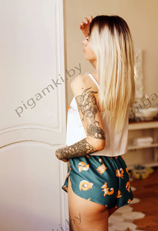 Шелковая пижама Лисички