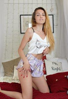 Шелковая пижама Единорожки