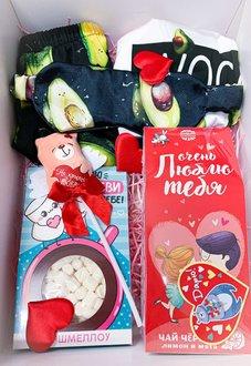 Купить подарочный бокс с пижамкой #004 в Минске, или с доставкой по РБ