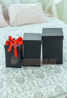 Коробка для розы в колбе 28 см